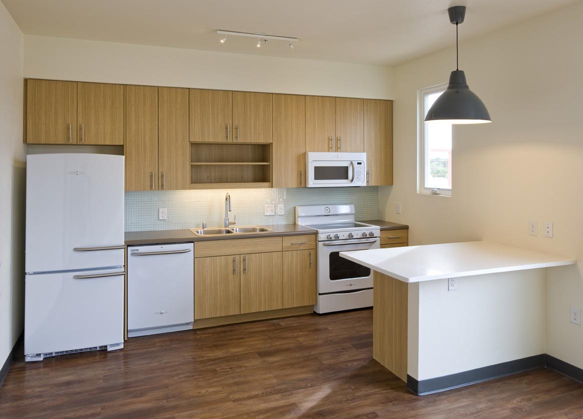 Light Brown Kitchen